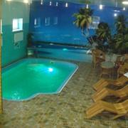 Сауна, джакузи, бассейн фото