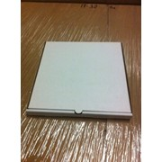 Коробка для пиццы 450*450*40 белая фото