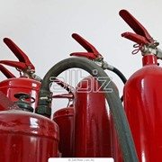 Огнетушитель углекислотный фото