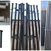 Металлические столбы фото