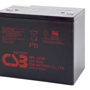 Батареи аккумуляторные GPL-12750-75Ah фото