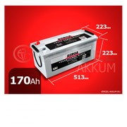 Батарея Berga Truck Power-block 170Ah обратная полярность фото