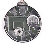 Медаль баскетбол - серебро фото