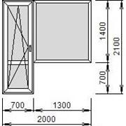 Изготовление балконных дверей фото
