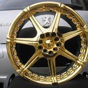 Золотой тюнинг автомобилей фото