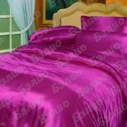 Комплекты постельного белья из шелка (атласа) однотонного фото
