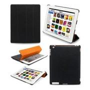 Чехлы для планшетов Melkco iPad HD/iPad2, Slimme Cover Type, Carbon Fiber Pattern (APIPA2PUSC1BECF) фото
