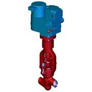 Клапан запорный DN 32-65 с электроприводом, Клапан запорный DN 32-65 с электроприводом (ЭH), клапан, клапаны, запорный клапан, запорные клапаны. фото