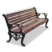 "Скамейка парковая ""Аллея"", кресло, 3,0м фото"