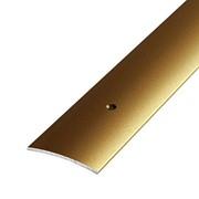 ЛУКА Порог стыкоперекрывающий ПС 04-1800-04 бронза (1,8м) 44,5мм фото