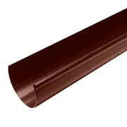 Желоб водосточный (Длина 3.0 м) ?125 покрытие PURAL MATT ( RR23) фото