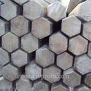 Прокат стальной горячекатаный шестигранный фото