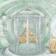 Эскизное проектирование дизайна интерьера. Эскизное проектирование для ванной комнаты. фото
