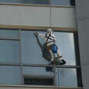 Мойка стекла, Мойка стекол в Алматы, Высотные работы в Алматы фото