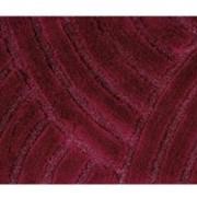 Коврик для ванной Confetti из 1-шт 55х60 Karya (134) 30мм (бордо) 1/40 фото