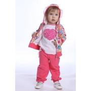Куртка для девочки 307-063 фото