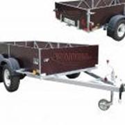 Прицеп для перевозки габаритных грузов фото