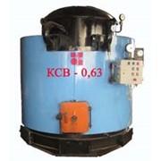 Твердотопливный водогрейный котел КСВ-0,63 фото