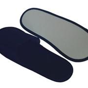 Тапочки одноразовые с открытым мысом в индивидуальной упаковке (Т-3033) фото