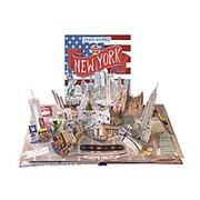 "Дженни Майзелс Книга-панорама ""Путешествие. Нью-Йорк"" на английском фото"