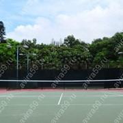 Стойки для большого тенниса с сеткой. фото