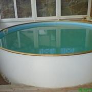 Бассейны плавательные круглые фото