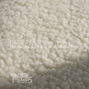 Ткань Микрофлис барашка молоко (280 GSM) 2680 фото