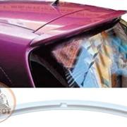 Спойлер Toyota Yaris 2008-2010 белый фото