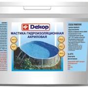 Мастика акриловая гидроизоляционная Декор фото