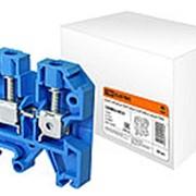 Зажим наборный ЗНИ-16мм2 (JXB100А) синий TDM фото