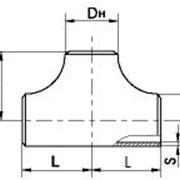 Тройники штампованные бесшовные согласно ГОСТ 17376-01 фото