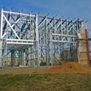 Легкие стальные тонкостенные конструкции ЛСТК фото