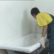 Реставрация ванн, Наливная ванна (жидкий акрил), эмалировка ванн фото