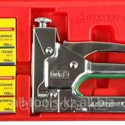 Пистолет Stayer Master регулируемый комбинир для скоб и гвоздей в комплекте Код:31511-H4 фото