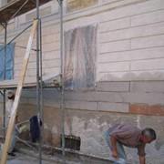 Фасадные штукатурные работы фото