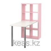 Стол комбинация, светло-розовый КАЛЛАКС фото