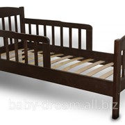 """Подростковая деревянная кровать """"Ассоль"""" орех фото"""