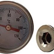 "Термометр с гильзой 1/4"" фото"
