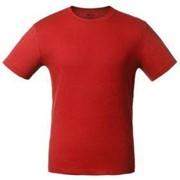Футболка темно-красная «T-bolka 140», размер XL фото