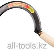 Серп Травник-45 гладкий, длина захвата 210 мм Код:39838 фото