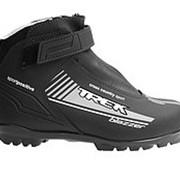 Ботинки лыжные Trek Blazzer Control NNN New (Черный лого синий, 38, 3.11-01) фото
