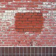 Удаление цементного налета с клинкера кирпича плитки Симферополь. Чистка налета с кирпича плитки Симферополь фото