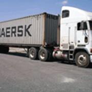Транспортировка грузов наземная фото