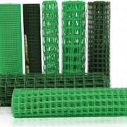 Сетка пластиковая 55х55 2,05*2 темно-зеленый фото