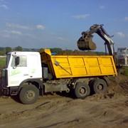 Вывоз грунта строительного фото