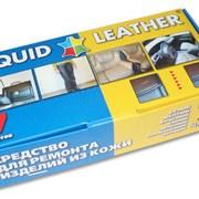 Набор клей Жидкая Кожа Liquid leather реставратор  фото