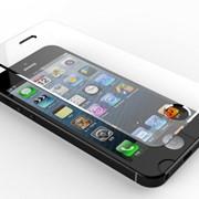 Закалённое защитное стекло для iPhone 5/5s matte фото