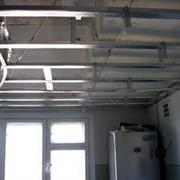 Устройство подвесных потолков фото