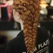 Плетение греческих кос фото