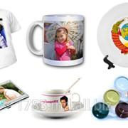 Сувениры и подарки,нанесение фото на чашки,тарелки и подушки! фото